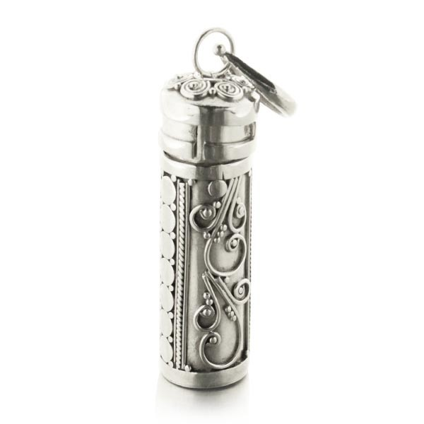 Pendentif tube ouvrable