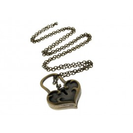 Collier long vintage camorra